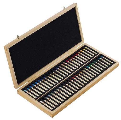 Ölpastelle - Holzschachteln n132518-50pl