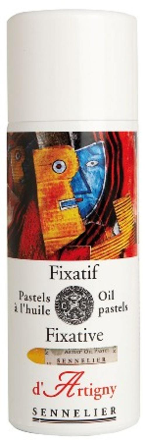 Fixativ für Ölpastelle 0