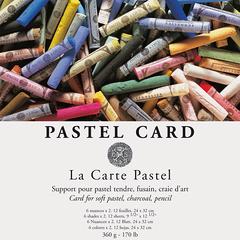 pastel card in bogen