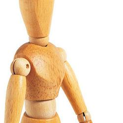 Gliederpuppen aus Holz